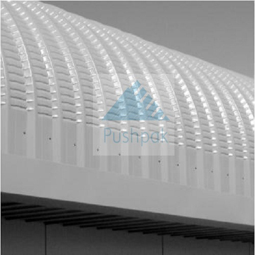 Curved Roofing Sheets : Industrial roofing sheets curved pushpak